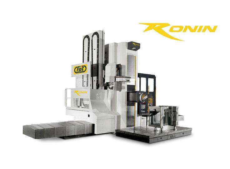 RONIN_FRESATRICE ORIZZONTALE    EVOLUTION OF THE SPECIES  RONIN è una fresatrice orizzontale a montante mobile, in grado di rispondere ad una ampia gamma di esigenze di lavorazione per il settore aerospace, mould & die e meccanica generale. Il montante monolitico ad assetto ribassato (LTM brevetto Fpt) unito al sistema a quattro guide sia per l'asse verticale che per la slitta garantiscono rigidità e prestazioni uniche nel settore.