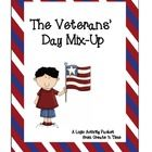 Liven up your Veterans' Day lessons with this logic activity packet that features Mayor Cortez and his big problem for the Veterans' Day community ceremony and use the activity as an introduction to discussion about what it means to be a veteran and the US branches of military service.  8-page packet includes statement of the problem, clues, logic worksheet chart, key, and notes to the teacher. grades 4-8. $3.00