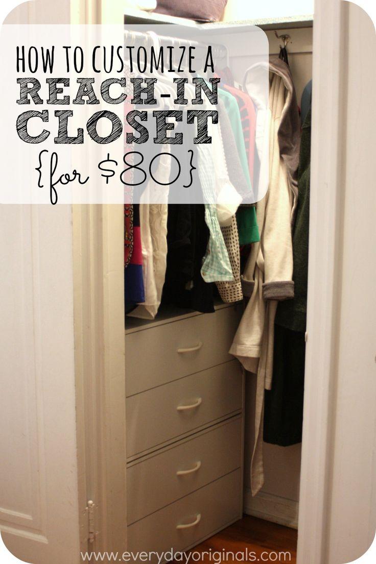 25 best reach in closet ideas on pinterest master closet layout small closet design and. Black Bedroom Furniture Sets. Home Design Ideas