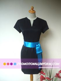 Sales Girl Uniform for a cosmetic company