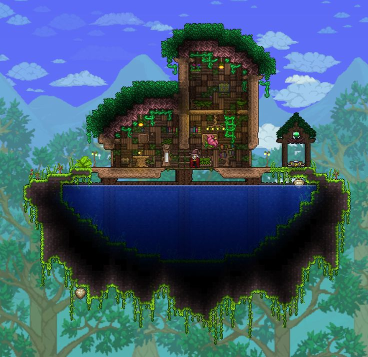 407 Best Images About Terraria, House, Wallpaper On