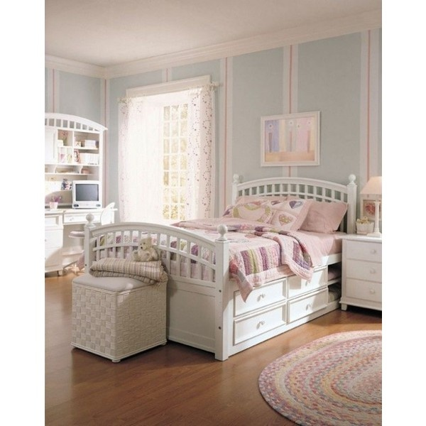Young Girl Bedroom Designed From Starlight found on Polyvore