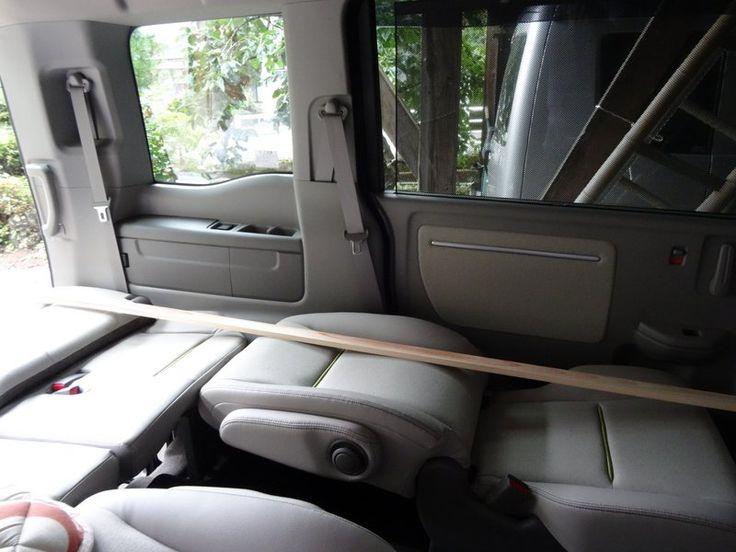 新型ステップワゴン車中泊ベッド再検証 - 錆鉄人と天女の感動人生