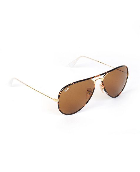 Ray-Ban Enamel Piped Aviator Sunglasses