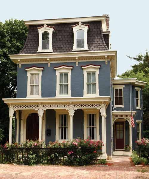 Best 25 mansard roof ideas on pinterest red brick for French mansard house plans