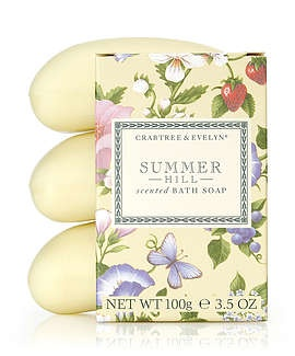 Summer Hill ® Triple-Milled Soap Set, French Milled Soaps | Crabtree & Evelyn