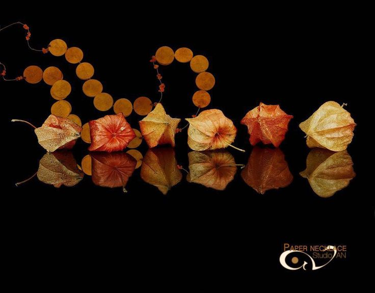 Orange paper necklace with semi precious stones#studioAN #papernecklace #handmade http://www.studioan.com