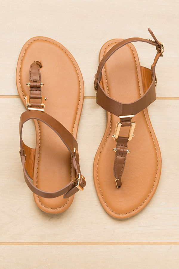 Wayfaring Wanderer Chestnut Sandals | ShopDressUp.com