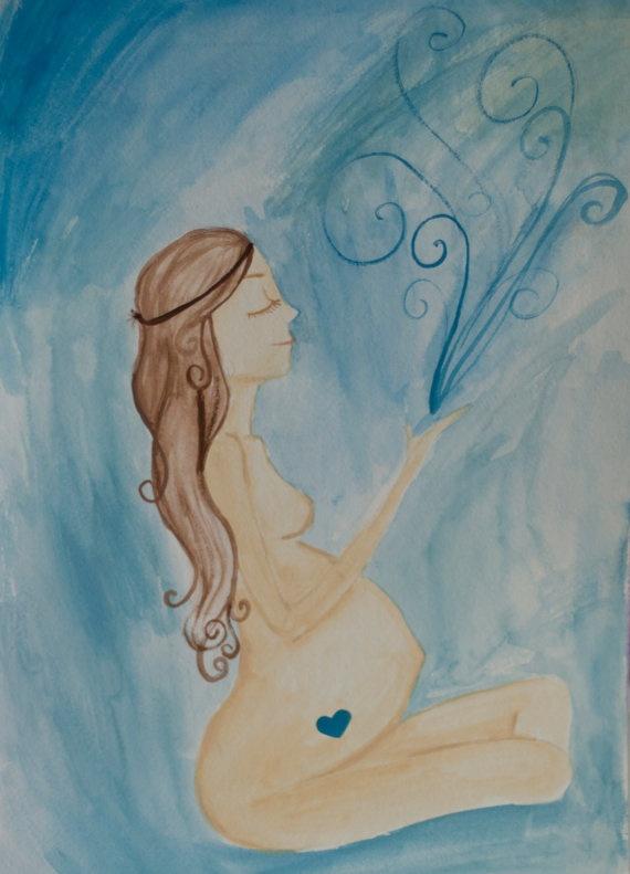 Pregnancy art