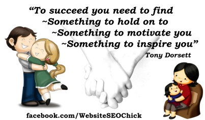 To succeed you need to find ...