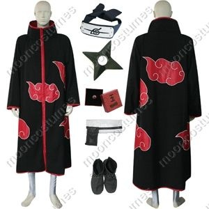 How to Make an Akatsuki Cloak thumbnail. I know you're following, so please make it for me?