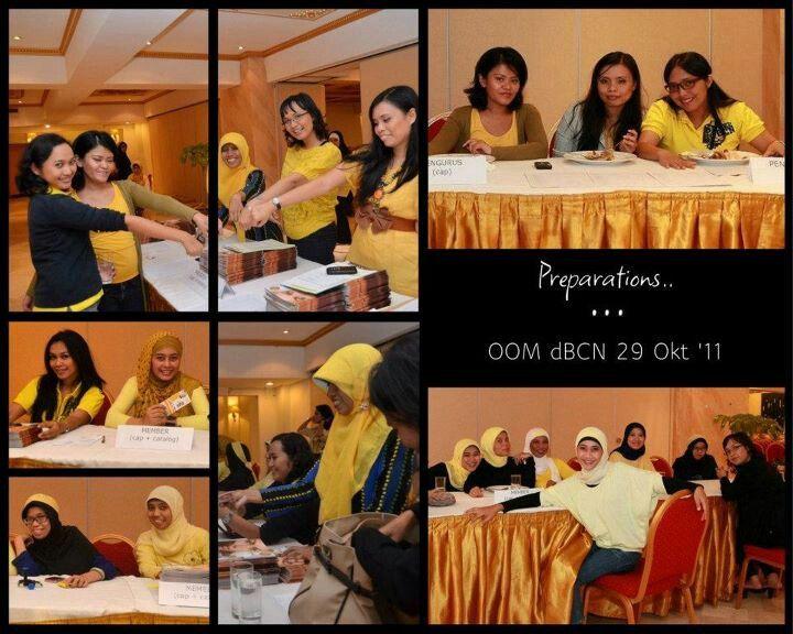 Jadi petugas registrasi di d'BCN Opportunity Oriflame Meeting (OOM) ;) www.dbc-network.com/?id=monicaruliandri=PIN-monicaruliandri
