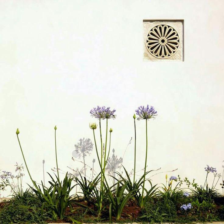 Presa d'aria decorativa in tufo, un dettaglio prezioso