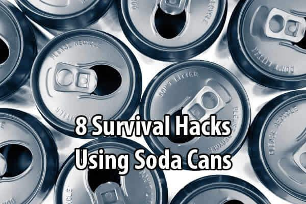 The best preppers don't just have lots of survival gear. They know how to make use of simple items in case they're ever in a situation where they don't have access to the rest of their supplies. For example: chap stick, pantyhose, duct tape, etc. Another example is soda cans. Recently I shared a video about how to make a penny can stove. But that's just the beginning. Survival Life compiled 8 videos that show you how to make things like lamps, torches, whistles, hooks, and mor...