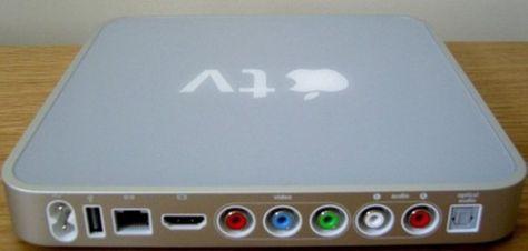 2007 – Apple TV. Receptor digital multimedia en un decodificador para televisiones de alta definición