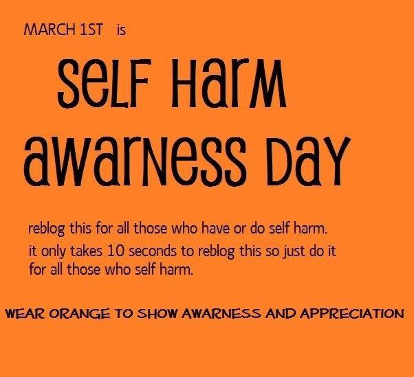 Self Harm Awareness: 39 Best Self Harm Awareness