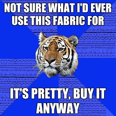 FYEAH SEAMSTRESS TIGER