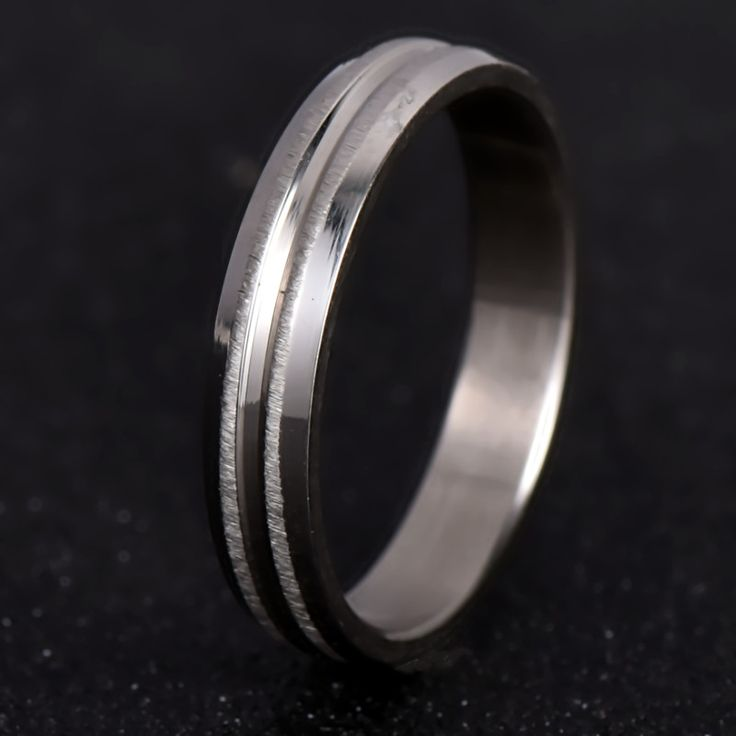 Nj188 Proste Miłośników Pierścień CZ Posrebrzane Pierścień Wedding Band Regulację Kolorów dla Kobiet