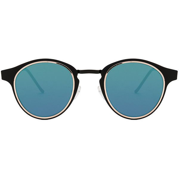 Spitfire Intergalactic ($39) ❤ liked on Polyvore featuring accessories, eyewear, sunglasses, metal frame glasses, metal frame sunglasses, spitfire glasses and spitfire sunglasses