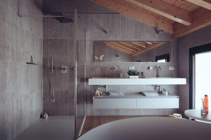 Bagno in camera da letto a vista design casa creativa e for 7 piani di casa di camera da letto