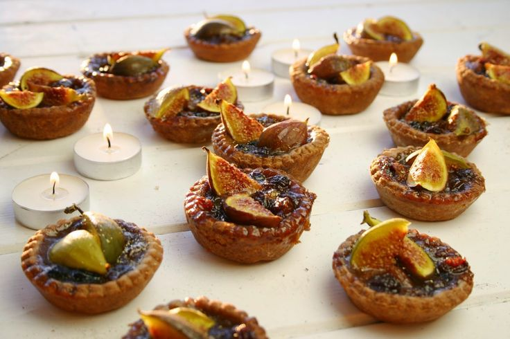 Belleau Kitchen: fig and honey mince pies with chocolate shortcrust pastry