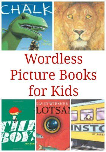 Forget the Words: Wordless Picture Books for Children | The Jenny Evolution: Forget the Words