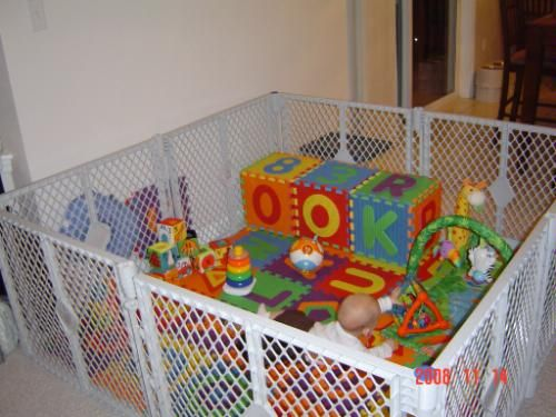 I NEED THIS SUPER BADLY!!!!! North State Industries: Superyard XT Portable Playard & Gate