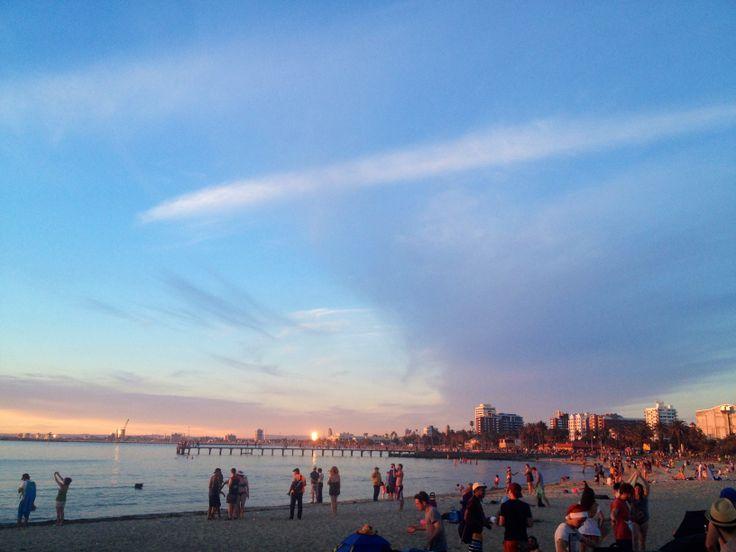 St Kilda Beach-Melbourne