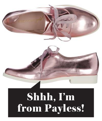 Payless Shoe Box Blue