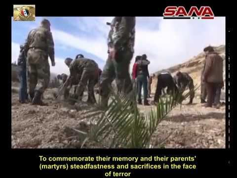 Children of SAA Martyrs Plant 1000 Saplings in Damascus Countryside | Syria News