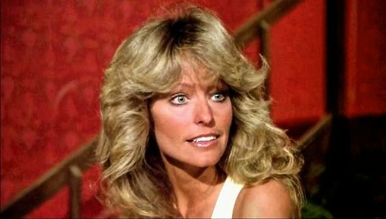 """Farrah Fawcett-Majors in The Blue Angels episode from the TV show """"Charlie's Angels."""""""