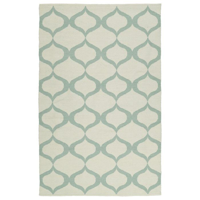 Dominic Hand Tufted Cream Mint Area Rug Flat Weave Rug Woven Rug Flat Weave