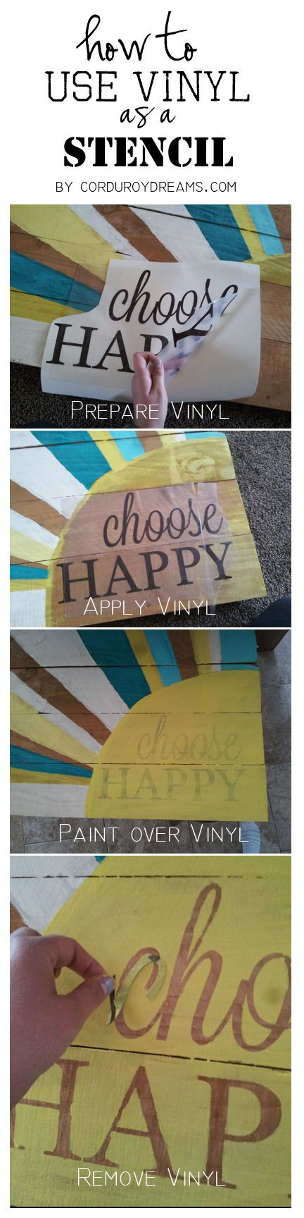 how to make a pallet sign WITHOUT the pallet