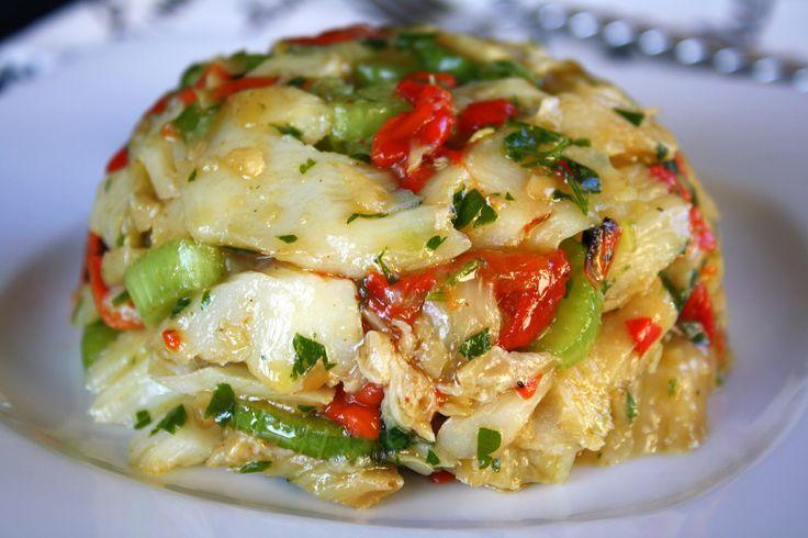 ENSALADA DE BACALAO ( cod salad)