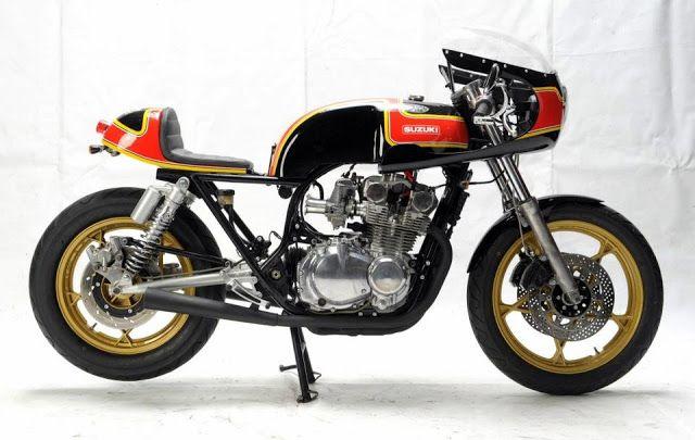 RocketGarage Cafe Racer: Suzuki GS 650