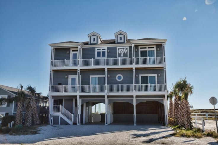 VRBO.com #741905 - Coastal Calm, a New Holden Beach Property Handicap Friendly with Elevator and Private Pool