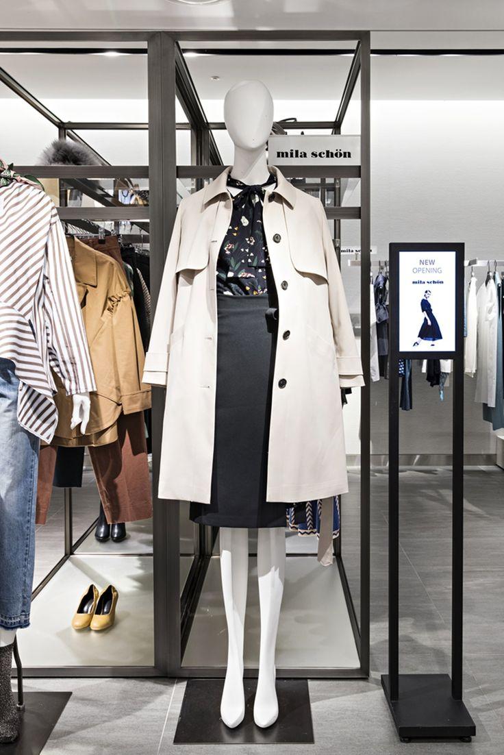 이태리 럭셔리 브랜드 밀라숀(MILA SCHON). 데일리룩, 오피스 룩 등 다채로운 스타일을 연출하고 싶다면 한번 방문해보세요. 갤러리아명품관 WEST 3층에서 만날 수 있습니다.