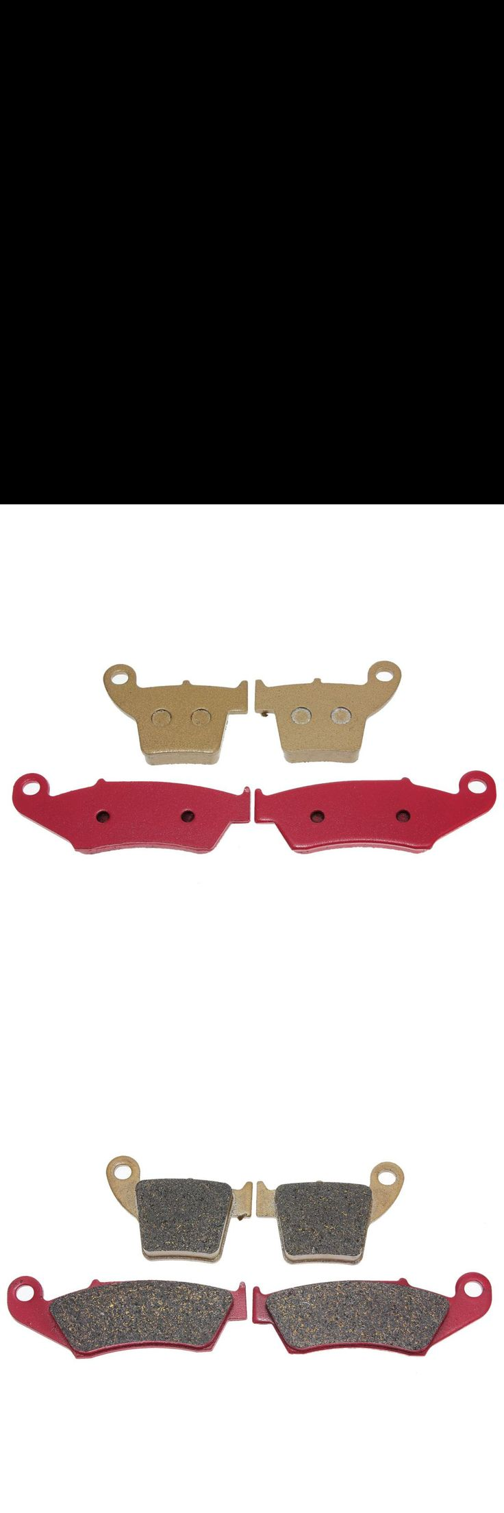 [Visit to Buy] Front Rear Brake Disc Pads For HONDA CR 125R 250 R 02-07 CRF 250R/X 450R/X 2002-2009 #Advertisement