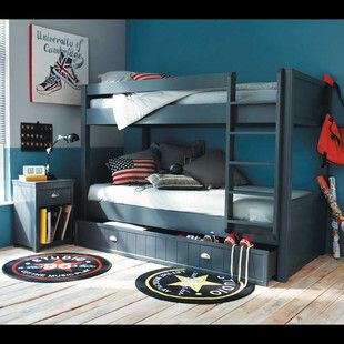 Boy's room with bunk bed from Maisons du Monde; 490 euros