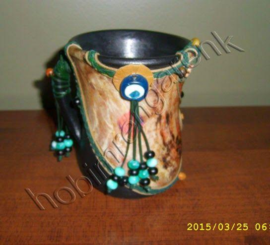 handled pot-Saplı Çömlek