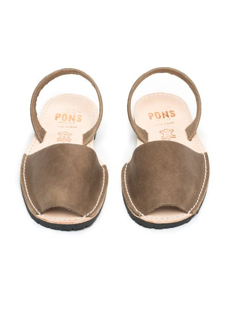 Pons by Avarcas Sandals - Taupe
