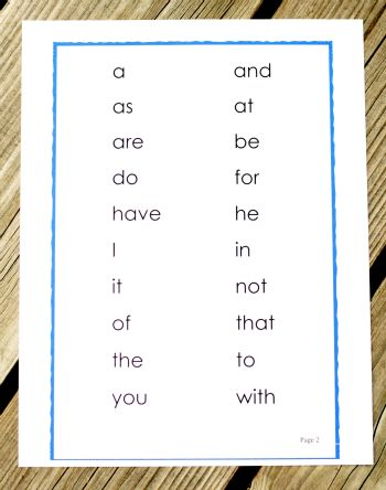 Sight Words for Beginners {Playdough to Plato} with progress tracking sheet
