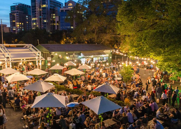 Once the home of the Belgian Beer Garden, Village Melbourne is one of the south-side's choice indoor/outdoor drinking hubs. Flanked by garden and the heritage-listed Ormond Hall, there are five separate entertainment areas allowing you to spend sunny afternoons outdoors or retreat into the bistro or terrace bar when the mercury drops.