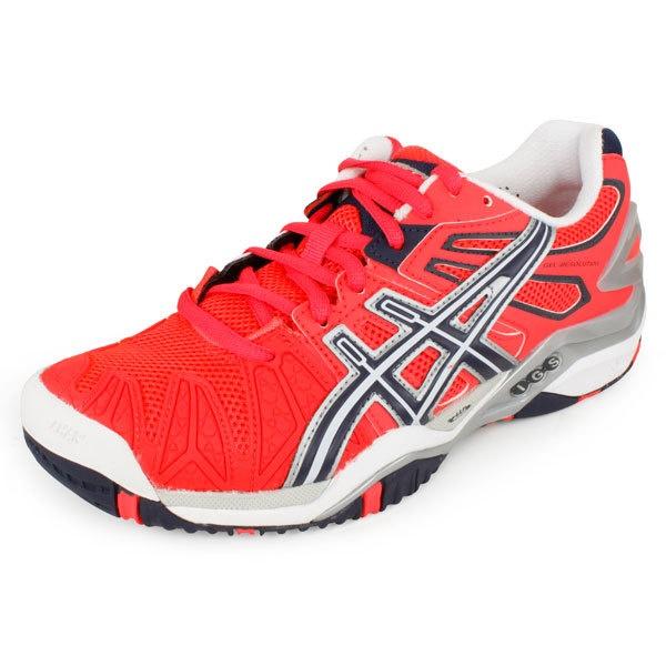 Women`s Gel Resolution 5 Tennis Shoes Diva Pink/Eclipse/Lighning. Asics ...