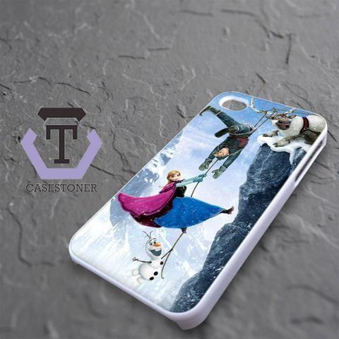 Mountain Snow Disney Frozen iPhone 4|iPhone 4S Black Case
