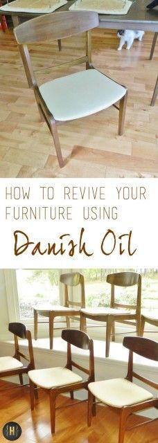 Reviving Furniture with Danish Oil - Homeology Modern Vintage