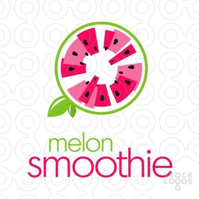 Melon Smoothie Juice | StockLogos.com