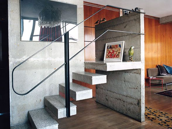 Floating concrete design bedrooms home interior decorators architecture interior design office design