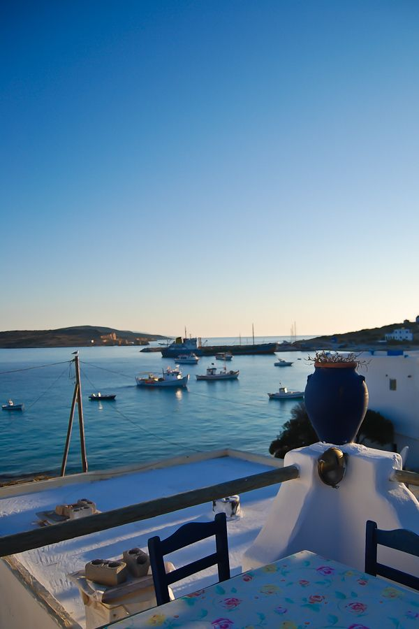 Koufonisi Harbour, Greece