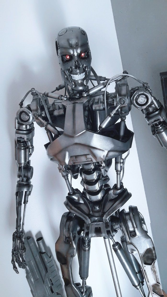 Genisys Terminator T800 Endoskeletton 11 Lifesize STL